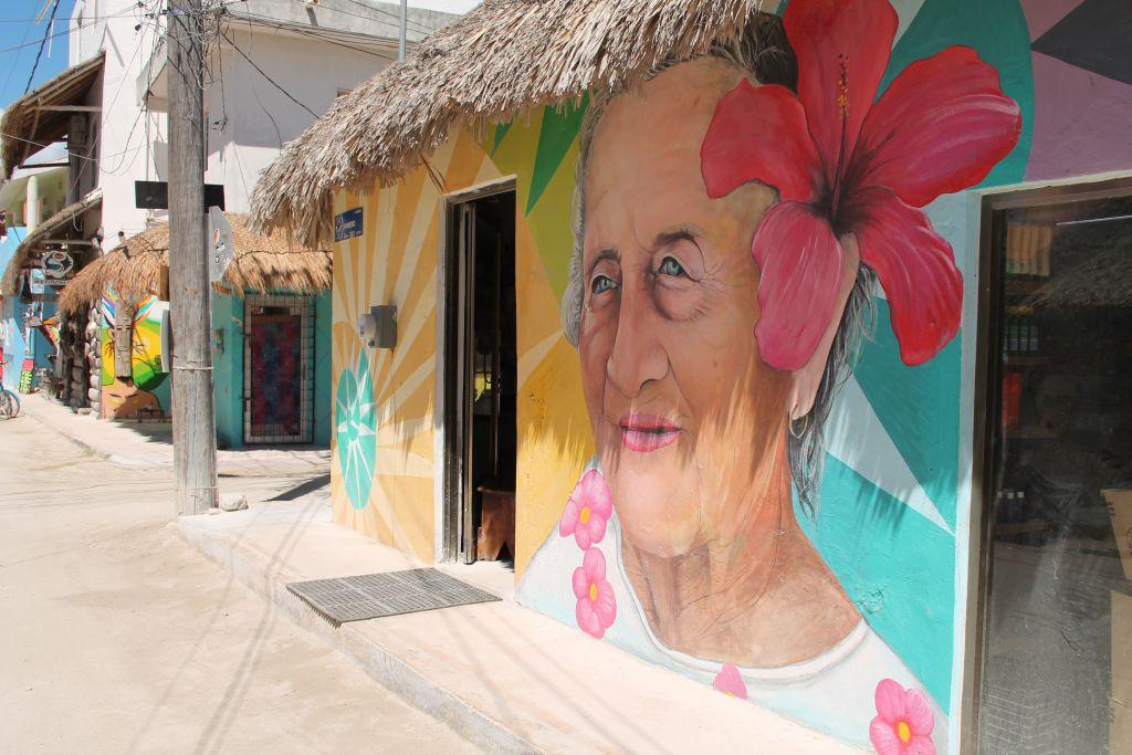 Isla Holbox streetart