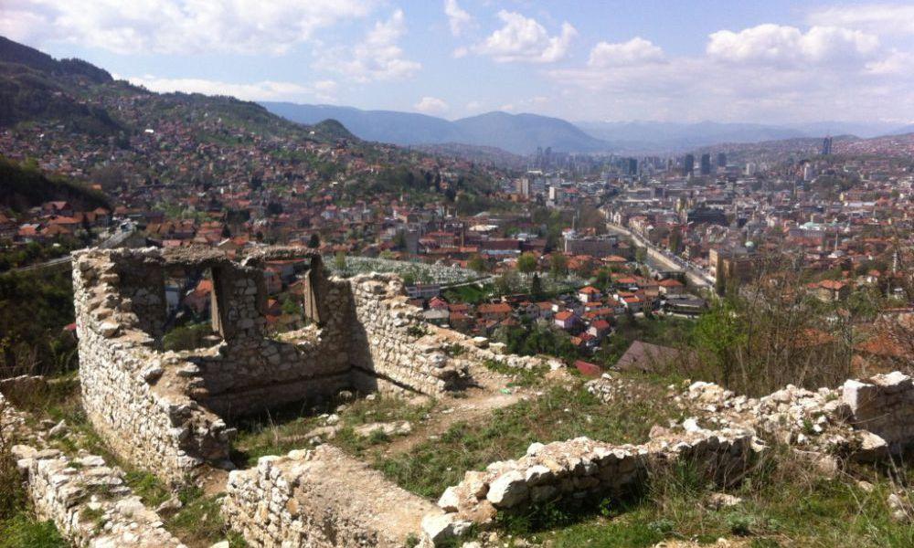 White bastion Sarajevo