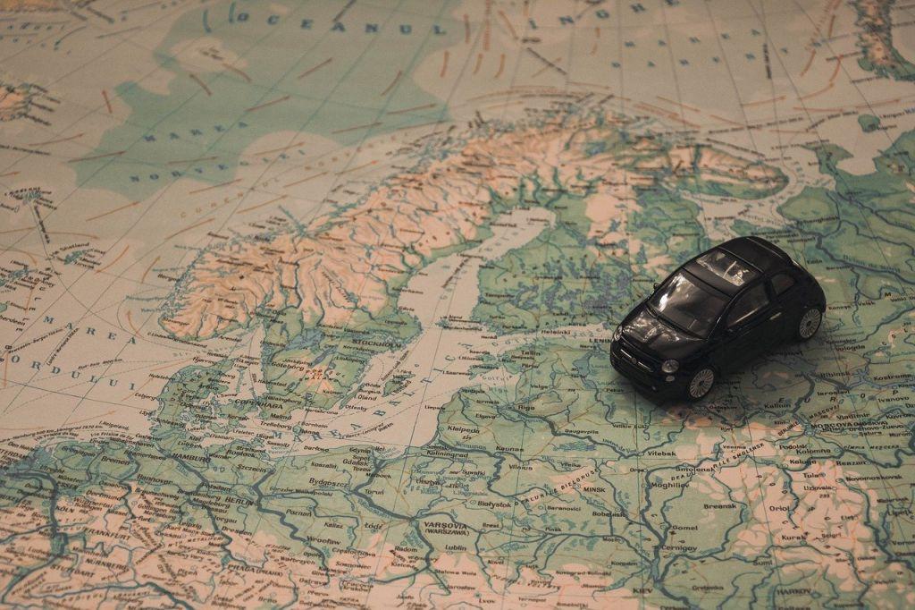 navigeren op reis