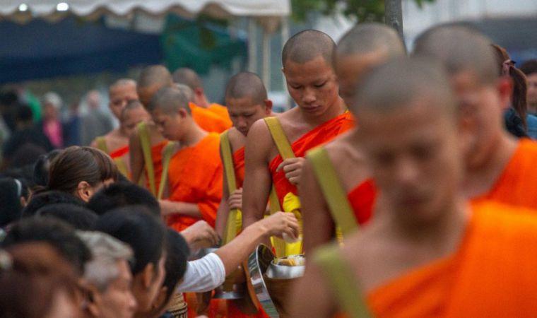 Luang Prabang monniken