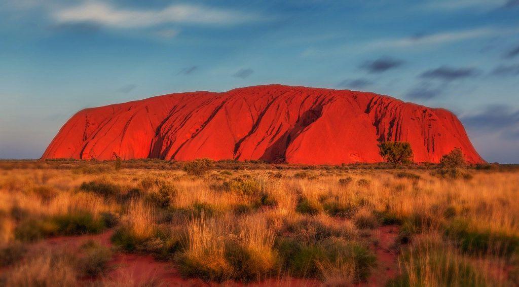Uluru Australië