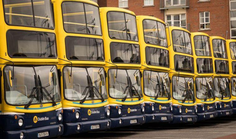 Airport bus in Dublin