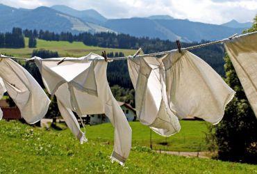 Kleding wassen op reis