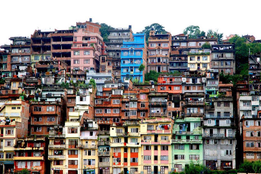 Tegenvallers in nepal