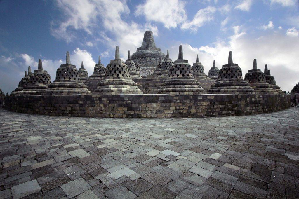 De tempels van de Borobudur