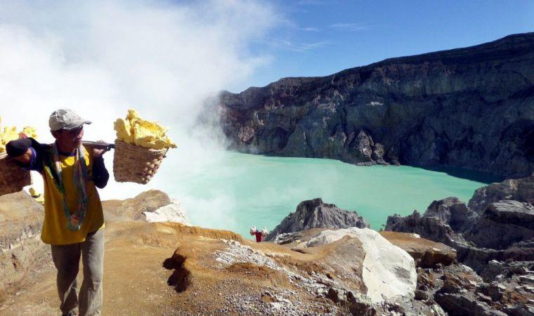 De Ijen vulkaan