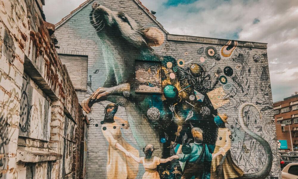 Street art in Breda