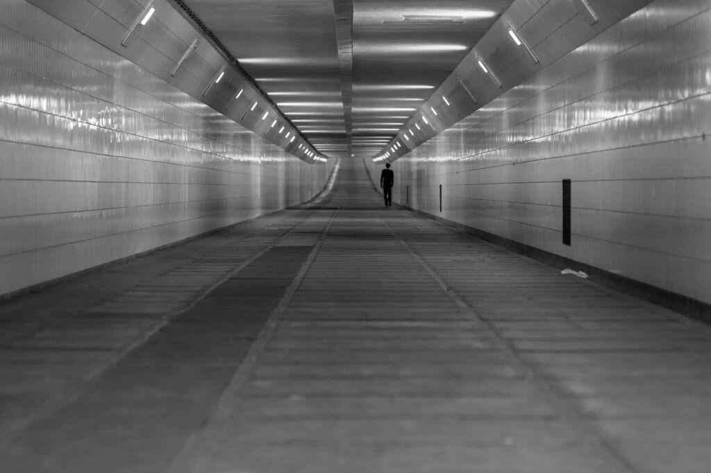 Maastunnel in Rotterdam