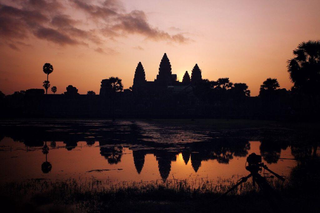 Cambodja tempels